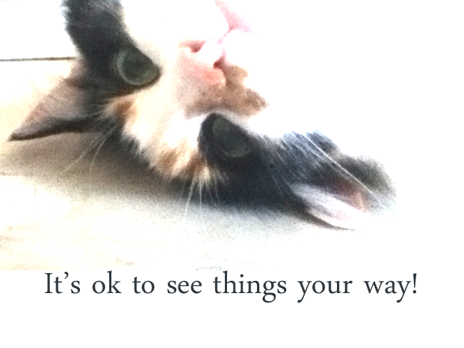 Its OK to See things Your Way
