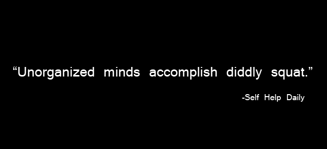 Quote About Unorganized Minds