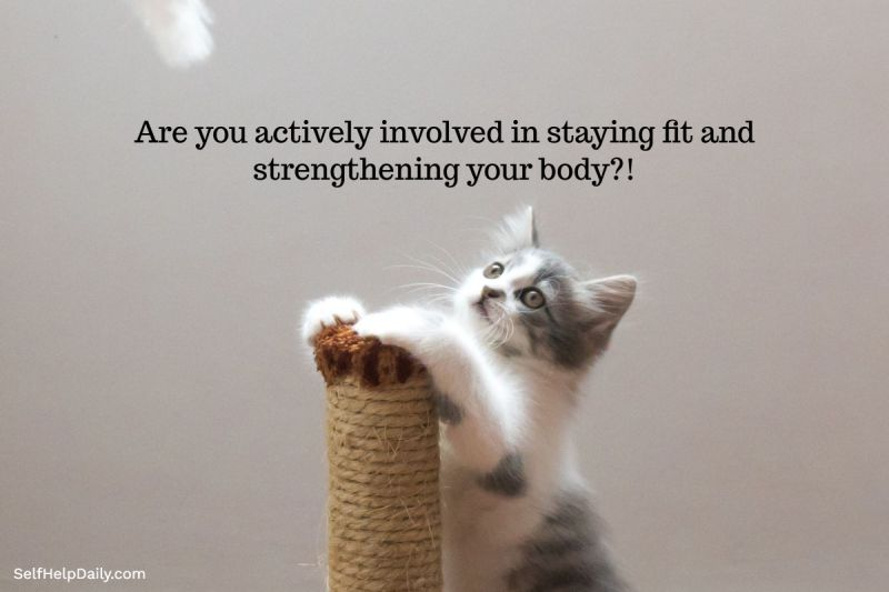 Staying Fit Graphic
