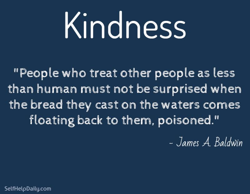 Quote About the Way You Treat Others