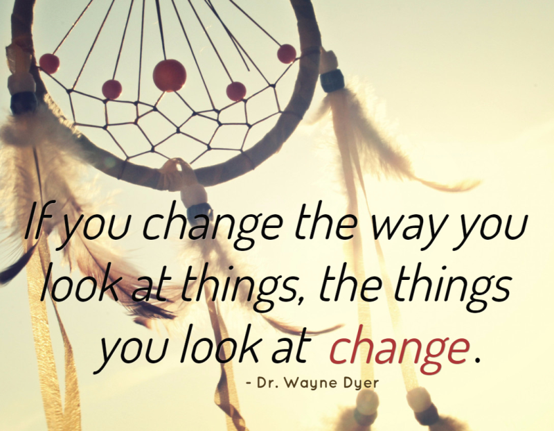 Quote About Perspective and Change