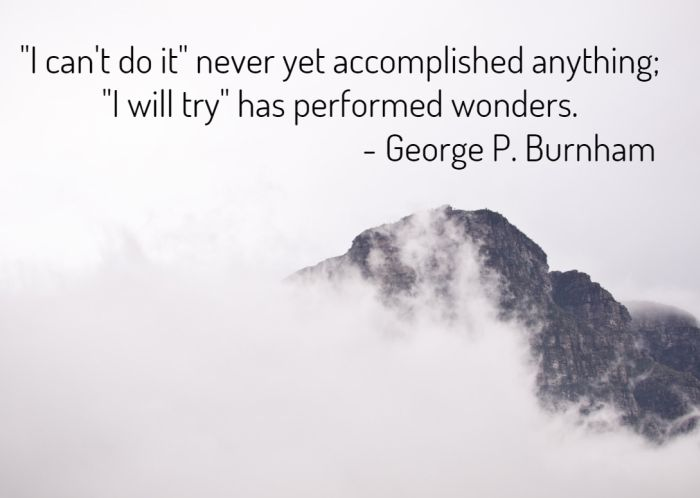 Quote About Achievement, Action and Attitude