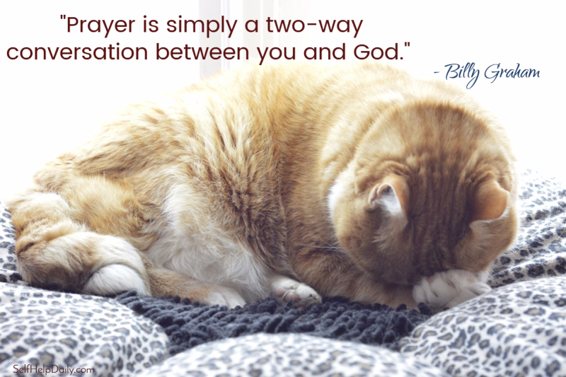 Billy Graham Quote About Prayer