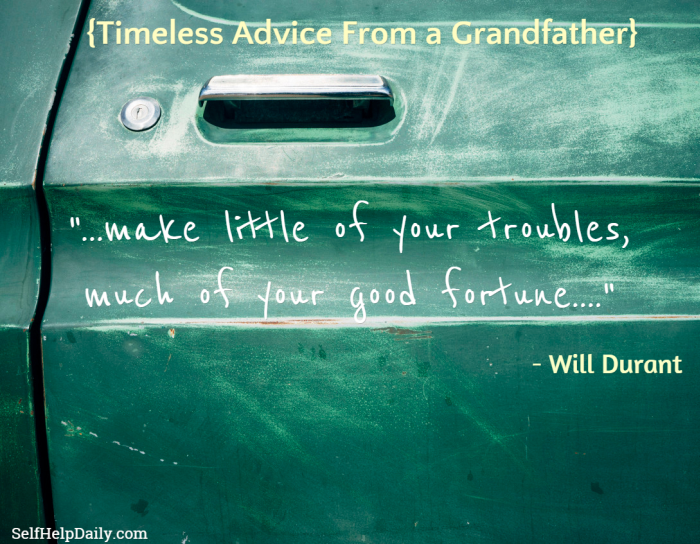 Grandfather's Advice