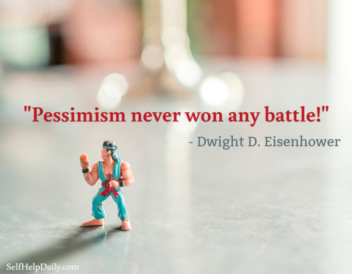 Quote About Pessimism and Pessimists