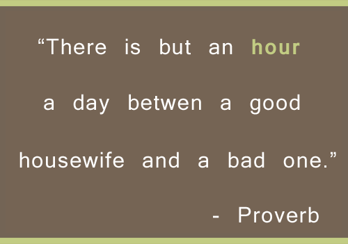 Quote About an Hour a Day