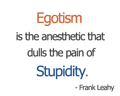 Quote About Egotism