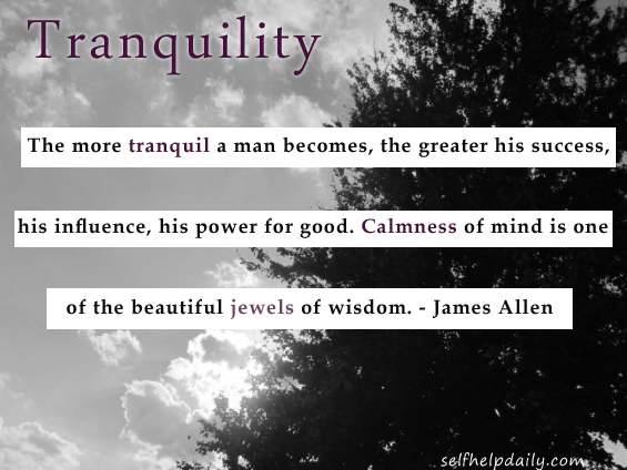 Quote About Tranquility