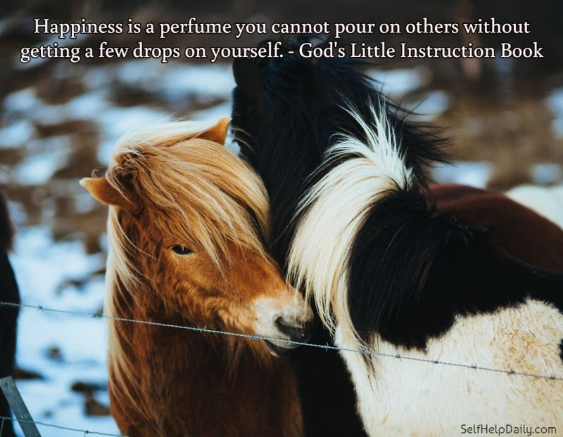 Quote about Kindness and Happiness