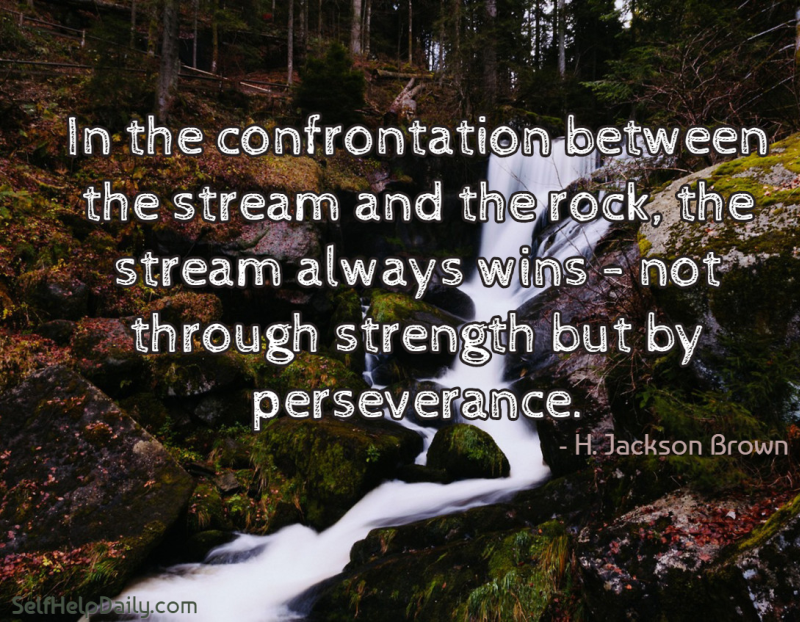 Perseverance: Quote And Encouragement!
