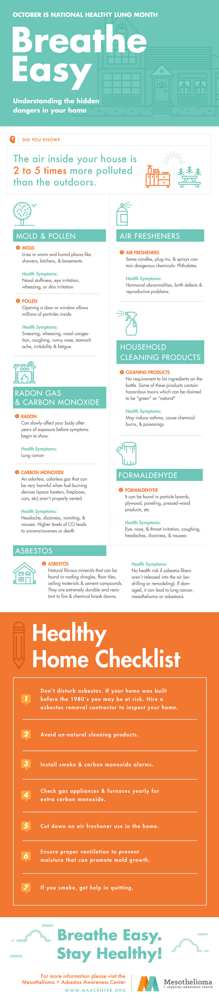 Breathing Tips for National Healthy Lung Month