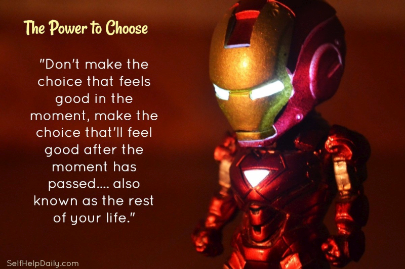Quote About Making Good Choices