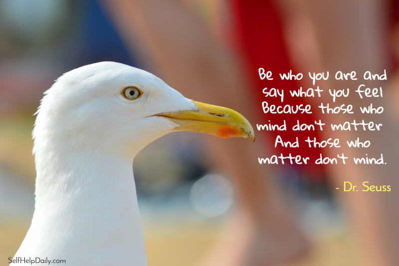Dr. Seuss Quote About Being Who You Are