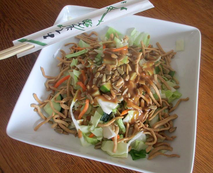 Healthy Asian Salad
