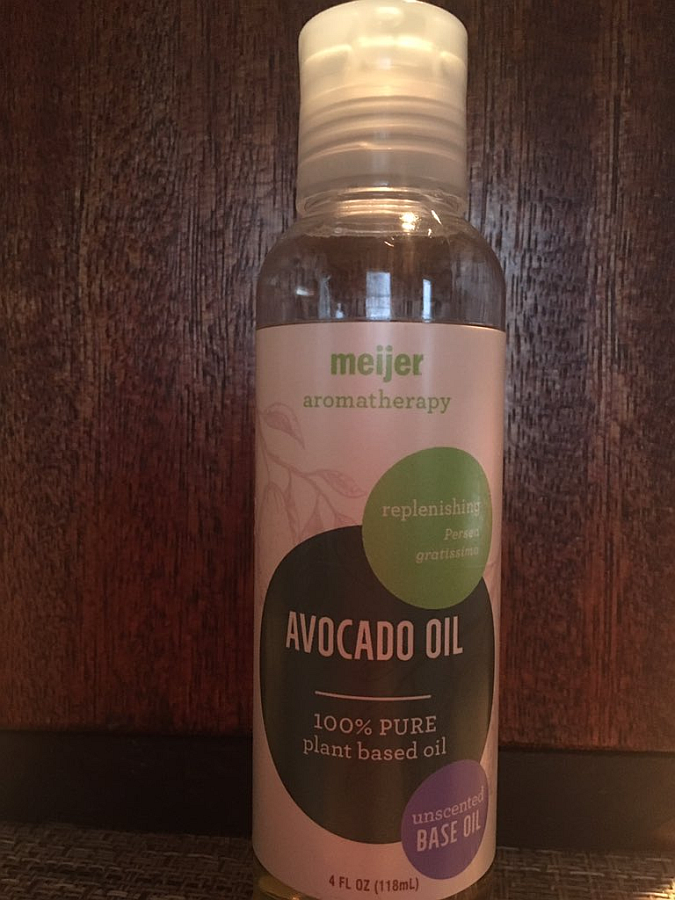 Avocado Oil Base Oil or Carrier Oil