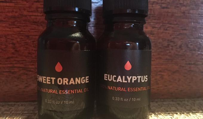 Sweet Orange and Eucalyptus Essential Oils