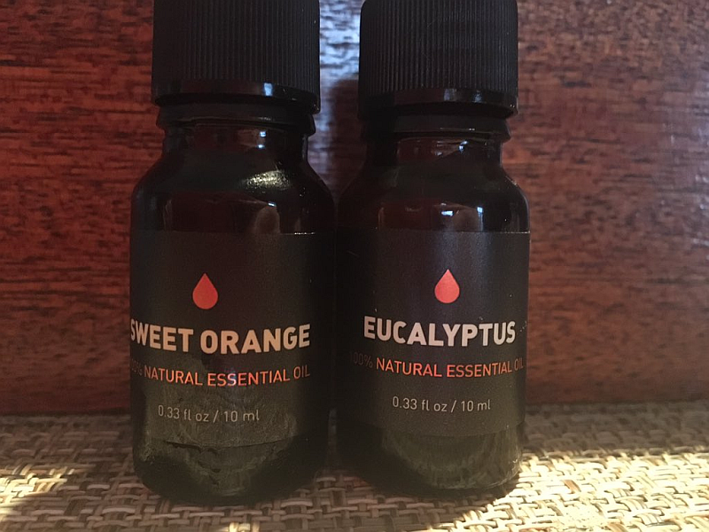 Sweet Orange and Eucalyptus Essential Oils