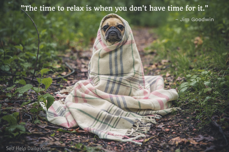 Quote About Relaxation